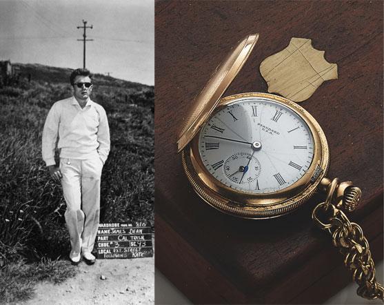 ساعت جیبی جیمز دین اصل گرانقیمت آنتیک