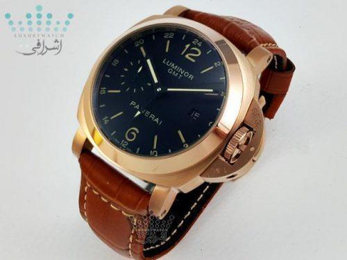 ساعت مردانه پانرای طلایی