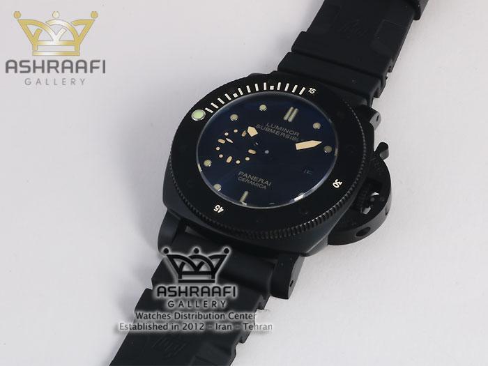 ساعت پنرای مشکی رنگ panerai submersible SB3