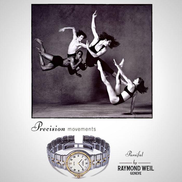 raymond weil ads - تاریخچه ساعت ریموند ویل و شناخت ساعت اورجنیال Raymond Weil